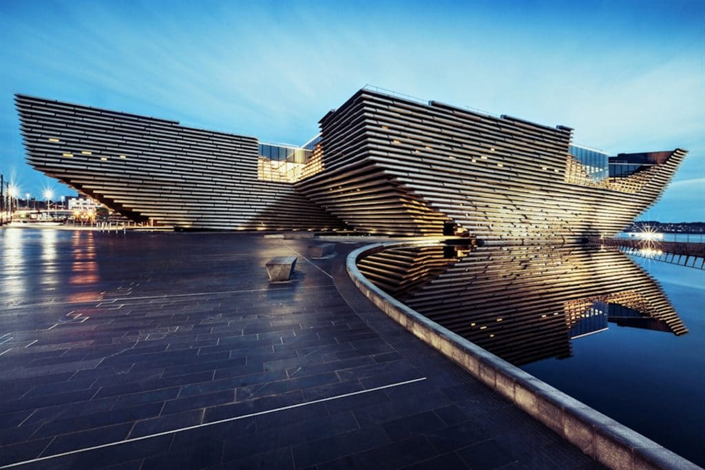 V&A Dundee tour