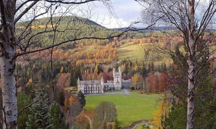 Balmoral Castle on our Castle tour