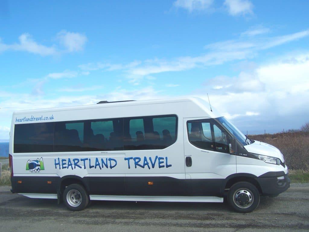 Minibus hire Stirling