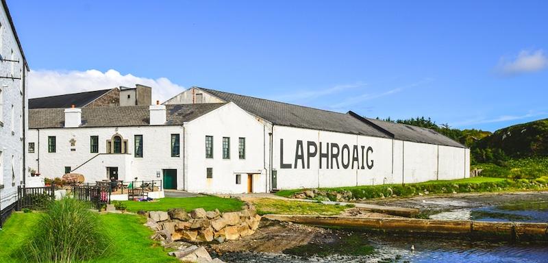 Laphroaig distillery factory, Islay, United Kingdom