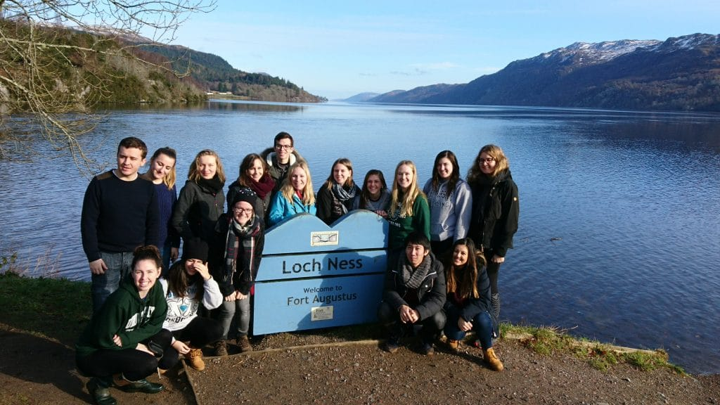 On a Loch Ness day tour