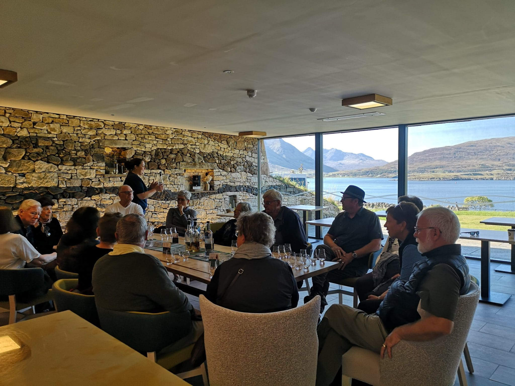 isle of raasay distillery on our Highland tour