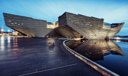 V&A Dundee tour