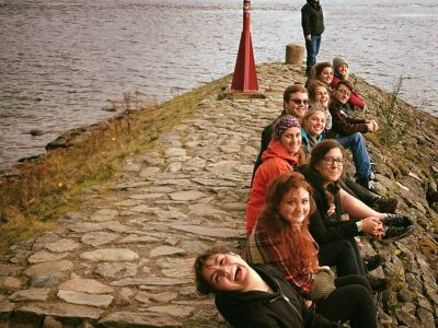 Passengers on our Loch Ness tour